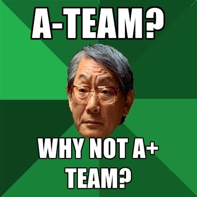 Team Meme - a team why not a team create meme