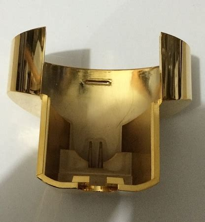 Aviva Shower Dispenser Replacement Parts by Replacement Gold Plated Bottom Retainer For Aviva Shower Dispenser Shower Replacement Parts