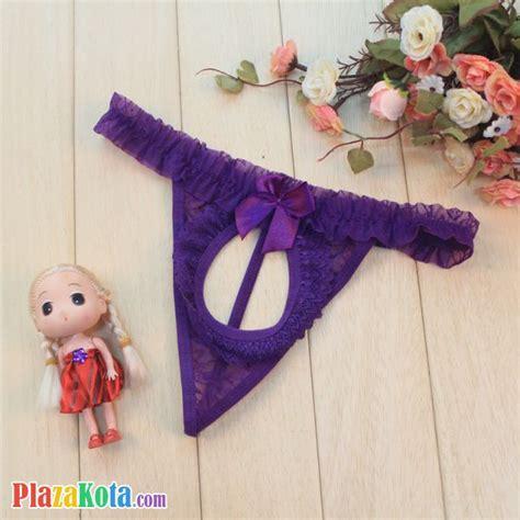 Jual Gorden Bahan Panca Motif Bunga Ungu Pita 1 jual gs074 celana dalam wanita ungu pita plazakota
