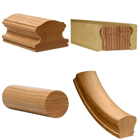 Wooden Banister Parts by Image Gallery Wood Handrails