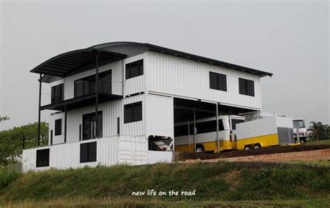 Adding Shipping Container To House - shipping container house at the hummock new on the road