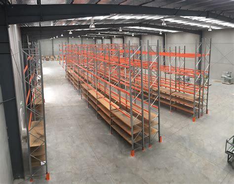 good warehouse layout case study abrasiflex relocation pallet racking case study