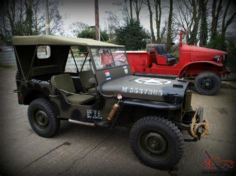 jeep usa hotchkiss willys overland jeep military 4x4 hstoric ww2