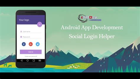 tutorial login android studio android studio tutorial social login helper youtube