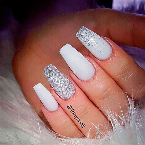 And White Nail Designs stunning white nail designs naildesignsjournal