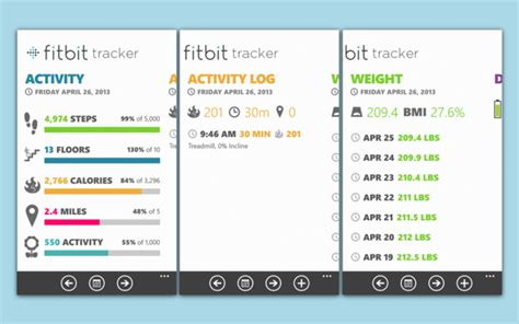 Which Fitbit Tracks Floors - fitbit tracker for windows phone gets updated for the