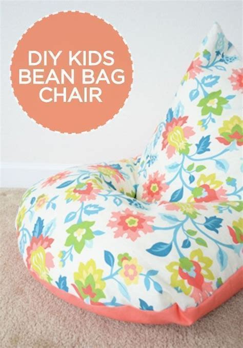 diy bean bag chair without sewing diy sew a bean bag chair in 30 minutes sewing