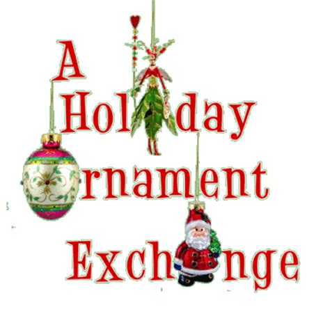 alternativebto exchanging christmas ornaments gif
