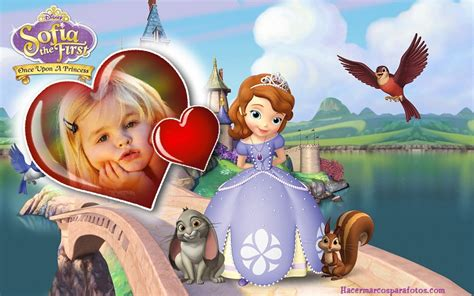 imagenes para decorar cumpleaños de la princesa sofia marco de princesa sofia marcos para fotos gratis