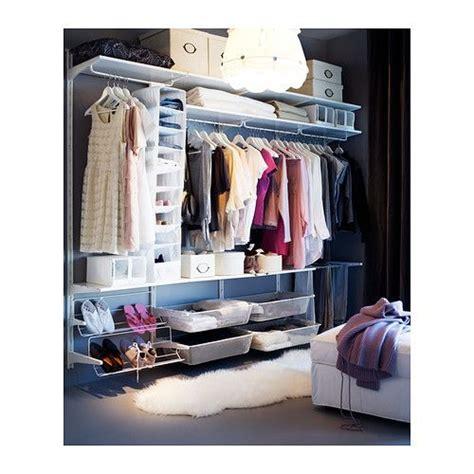 ikea open closet algot calha vertical var 227 o sapateira ikea para casa