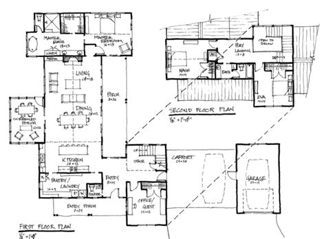 contemporary floor plan modern farmhouse
