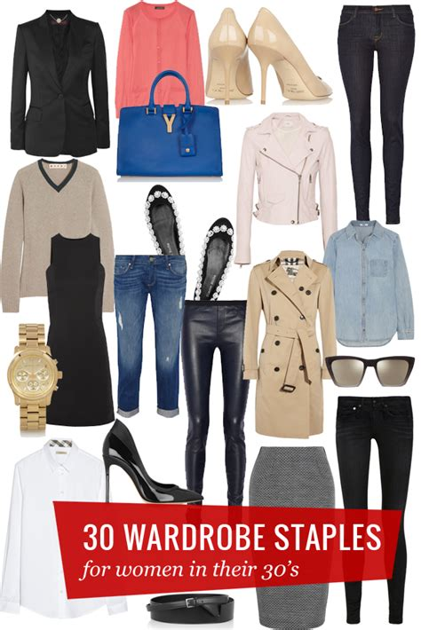 staples needed for hip wardrobe 2014 30 wardrobe staples for women in their 30s lauren messiah