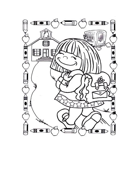 printable coloring pages for the first day of school first day of school coloring pages coloringsuite com