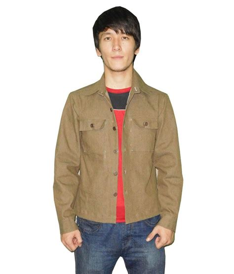 Hummer Original Clothing Pluto Brown pluto brown denim sleeves s jacket buy pluto brown denim sleeves s jacket