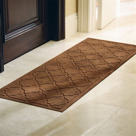 Front Door Rugs Low Profile Trellis Microfibers Door Mat Traditional Doormats