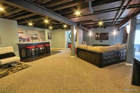 basement ceiling sprayed black spray ceiling black basement ceilings
