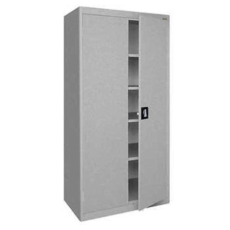 sandusky welded steel storage sandusky welded 72 quot steel storage cabinet 36 w x 18 d x 72 h