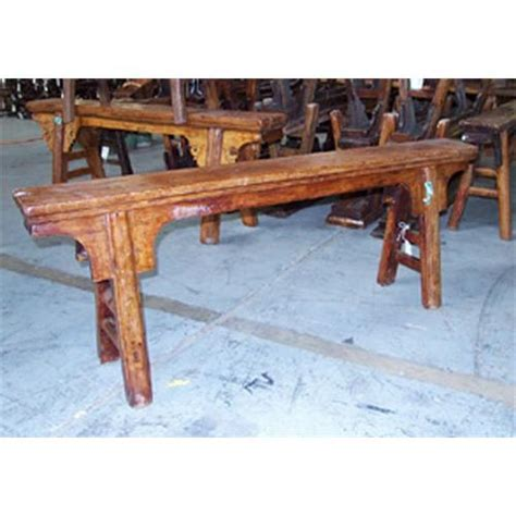 narrow wooden bench antique narrow elmwood bench chinese wood 2292303