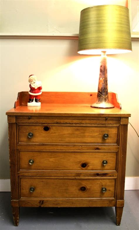 Small Three Drawer Dresser by Found In Ithaca 187 Small Three Drawer Dresser Sold