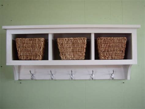 cubby wall shelf country shelf for baskets by