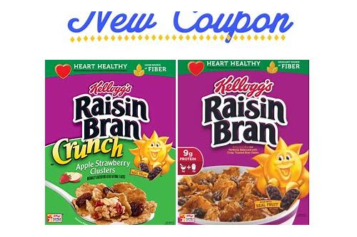 raisin bran cereal coupons printable