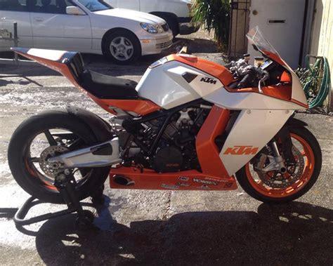 Ktm Track Bike Orange Whip 2010 Ktm Rc8r Track Bike For Sale