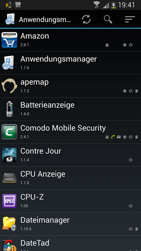 app manager for android application manager android apps on play