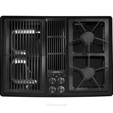 jenn air gas cooktop with downdraft jgd8130adb jenn air jgd8130adb gas cooktops black
