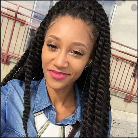 how do you curl cuban twist hair 17 best images about senegalese twists on pinterest