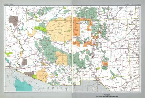 map of texas and arizona map arizona new mexico