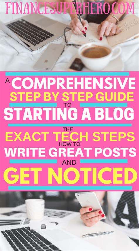 write posts readers a step by step guide books how to start a write great posts and get noticed