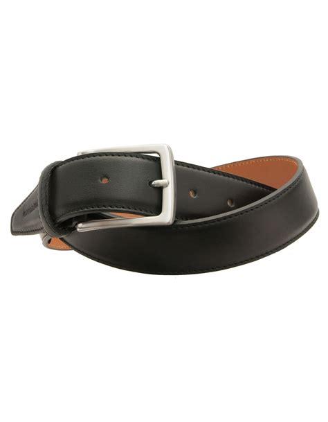 profuomo premium italian leather belt black
