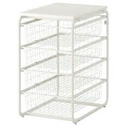 wire basket shelving system algot frame 4 wire baskets top shelf ikea shelves n