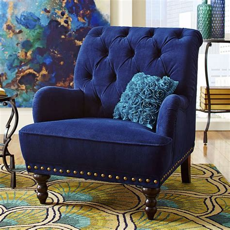 Blue Accent Chair 1000 Ideas About Blue Velvet Chairs On Velvet Chairs Luxury Dining Room And Chairs