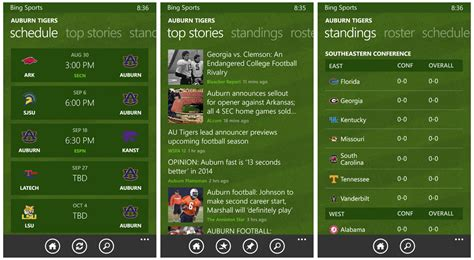 bing sports top rated football apps for your windows phone windows
