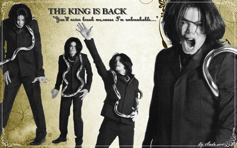 Michael Jackson Is Back In The Us by The King Is Back Michael Jackson 2002 2009 Wallpaper