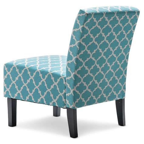 fabric for armchair fabric armchair in teal and white patterned print buy