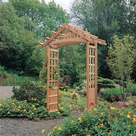 backyard arbors designs nantucket garden arbor 820 1999 1
