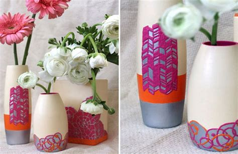 Diy Flower Vases by Diy Flower Vase Projects Recycled Things