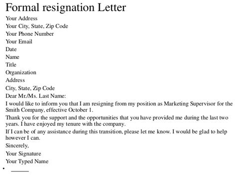 Resignation Letter Email Subject Title Resignation Letter Format Imposing Resignation Letter Title Heading Sle Like Resignation