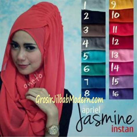 Jilbab Instant Dhea Jilbab Hoodie Instant Aprilia Grosir Jilbab Modern
