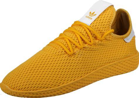 adidas pw tennis hu shoes yellow white
