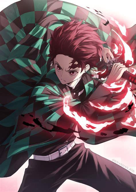 kamado tanjirou kimetsu  yaiba zerochan anime image