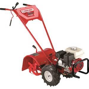 Garden Tiller Accessories Troy Bilt Pro Line 160cc Frt Tiller 18in Tilling Width