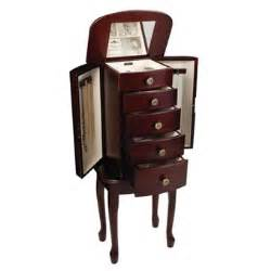 Free Standing Armoire Free Standing Jewelry Armoire