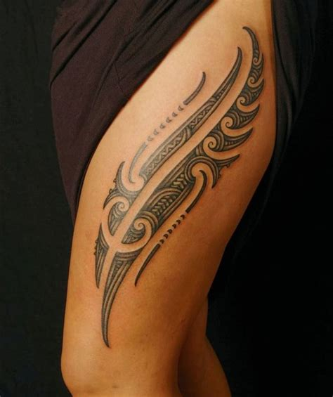 tribal tattoos on thighs 25 best ideas about tribal meanings on