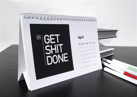calendar design quote startup quote 2014 desk calendar the startup quote 2014
