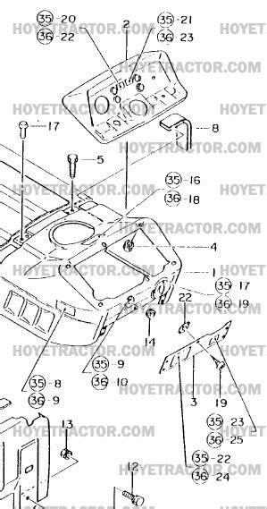 DASH: Yanmar Tractor Parts