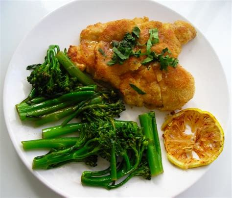 chicken piccata ina garten barefoot blogging chicken piccata with saut 233 ed broccolini
