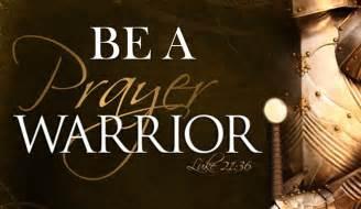 prayer warriors ponderings warrior princess
